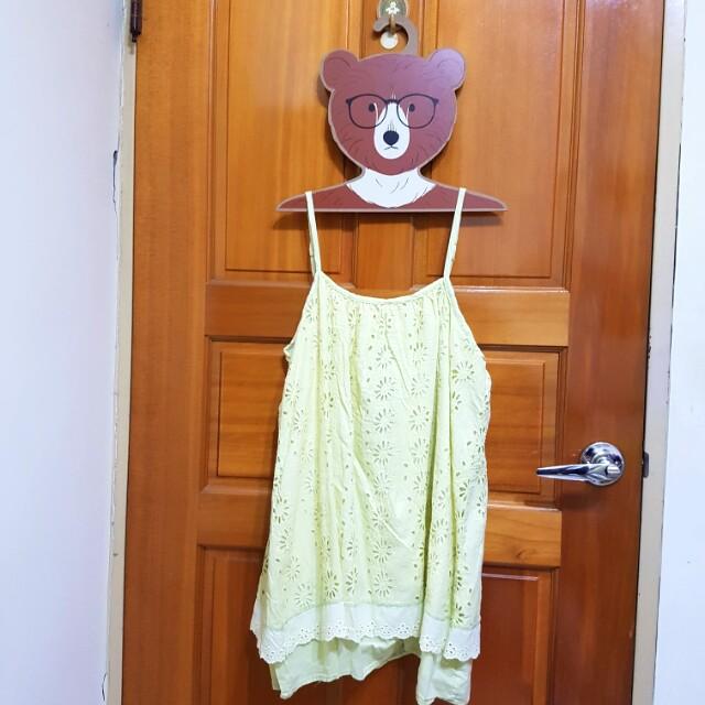 日貨可愛肩帶背心小洋裝 #幫你省運費 #四百不著涼