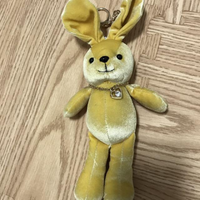 兔子 娃娃吊飾 包包吊飾