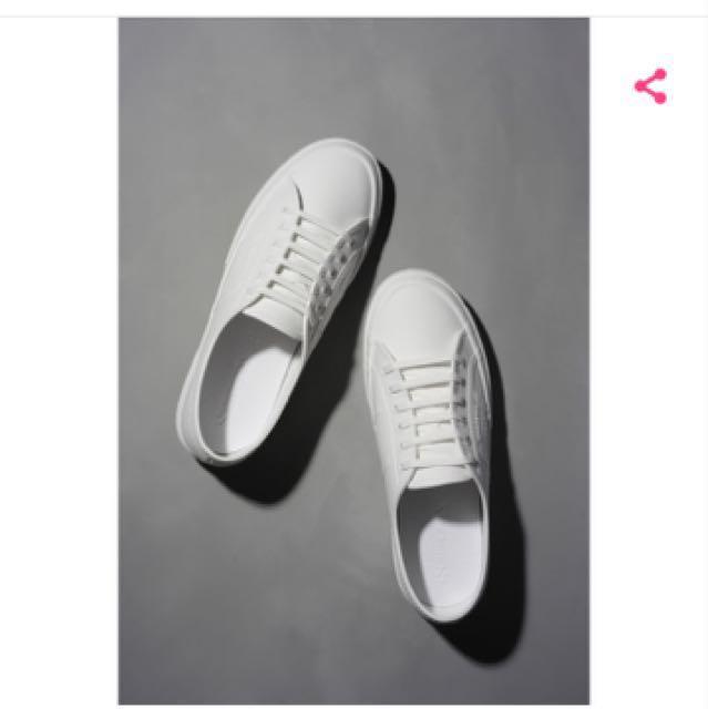 義大利時尚帆布鞋 / Classic 2750 - TPU 防水基本款  尺寸24.5