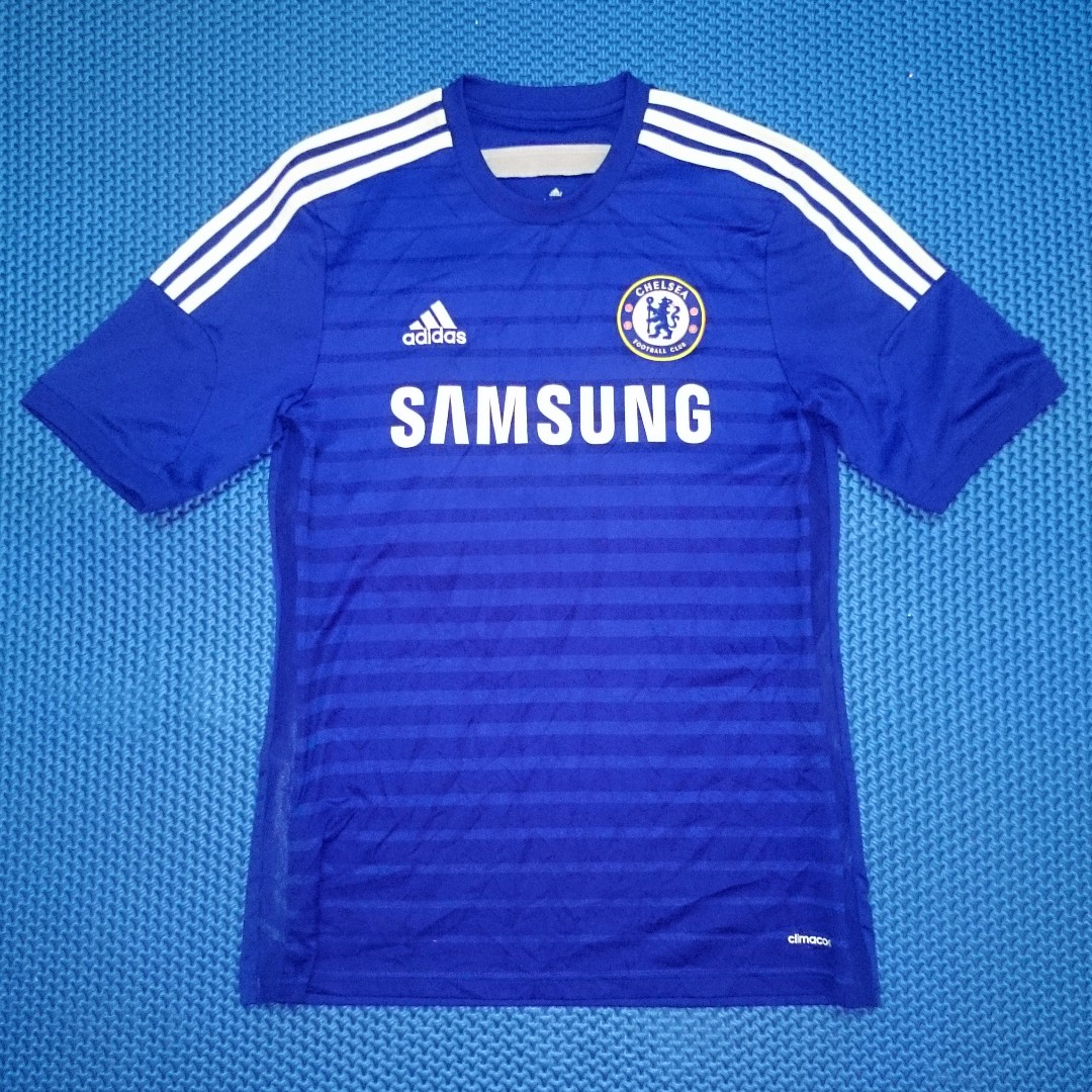 🆒 Adidas Chelsea F.C. 2014 2015  10 Home Jersey f629e0c3a