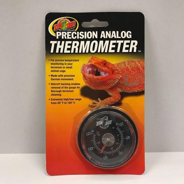 美國 ZOO MED 精確類別爬蟲溫度計