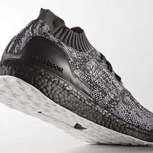 fda68409f ... spain adidas ultra boost uncaged core black solid grey size uk 7.5  a1aaa fc5a5 ...