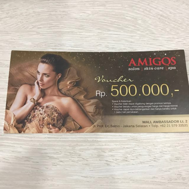 Amigos Salon Voucher 500.000