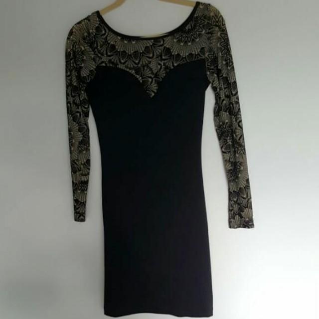 Antiflirt Paris Size 2 Bodycon Dress