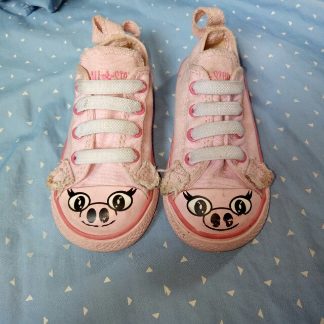 authentic pink converse