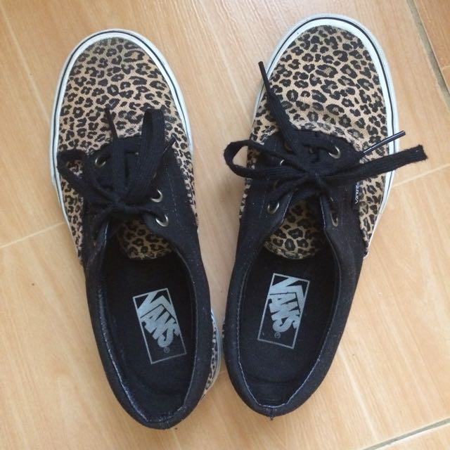 Authentic VANS Leopard print