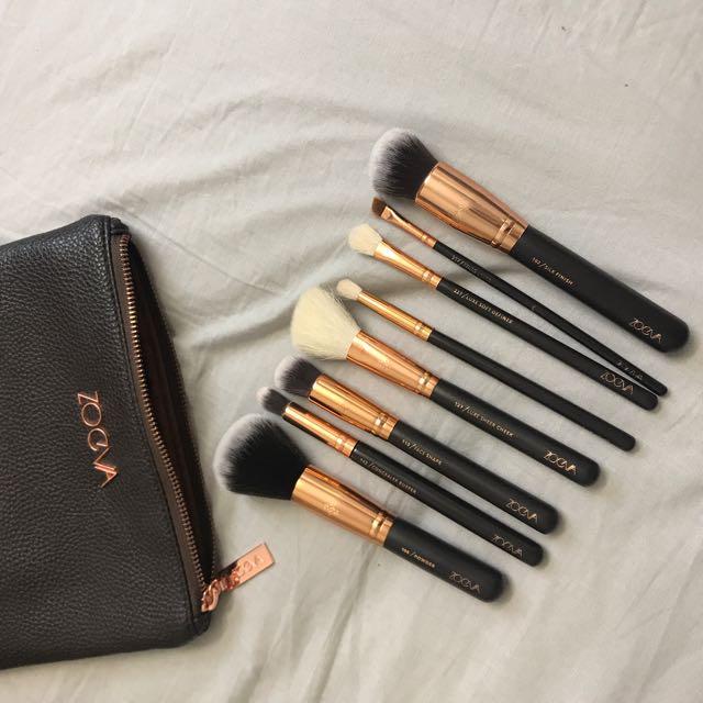 AUTHENTIC Zoeva Brush Set