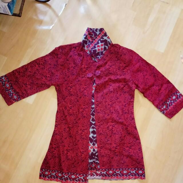 Baju batik size M