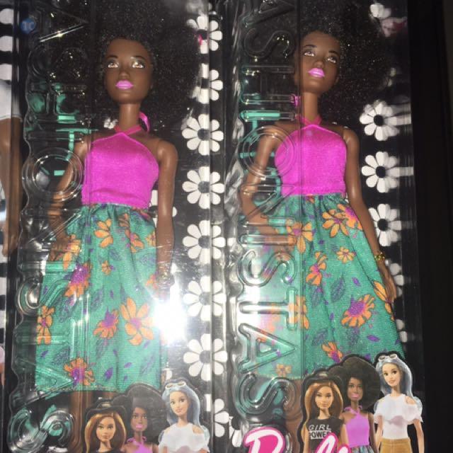Barbie Fashionistas Afro