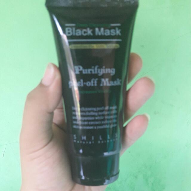 Black MASK SHILLS preloved