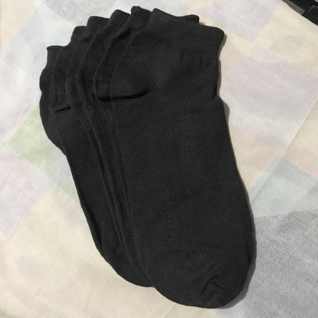 Black Socks Bundle 3' Or 12's