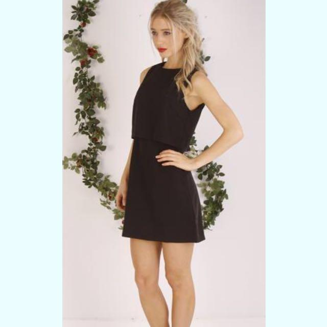 Black Tier Dress