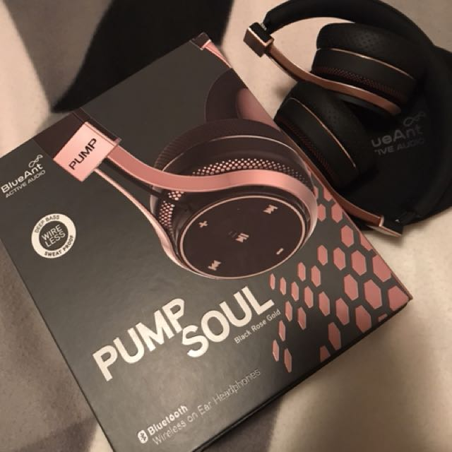 Blue Ant Pump Soul Bluetooth Headphones