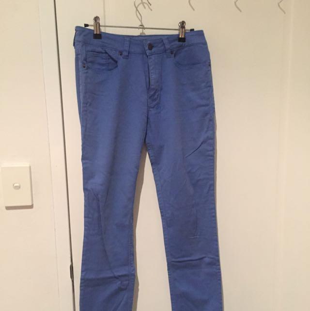 Blue Ksubi Size 28