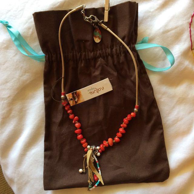 Boho Necklace BNWT