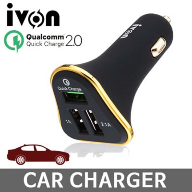 Brand New ivon quick charge 2.0 selling at $8.90