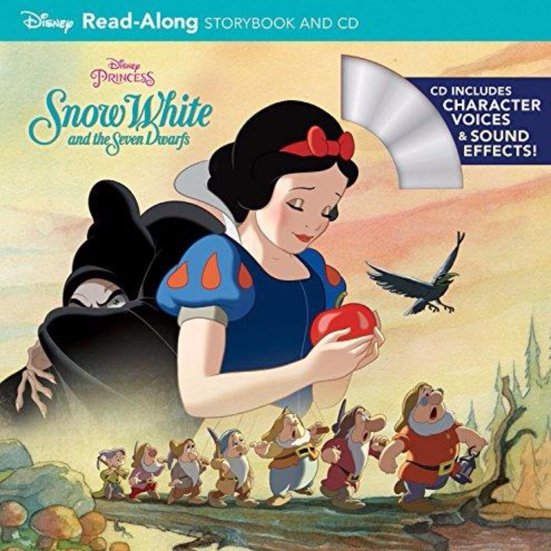 ☺[Brand New] Snow White and the Seven Dwarfs (Disney Princess