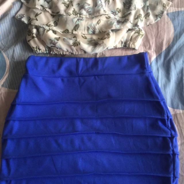 Branded angelina Chube nd skirt for sale