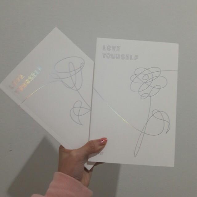 BTS ALBUM LOVE YOUSELF:HER