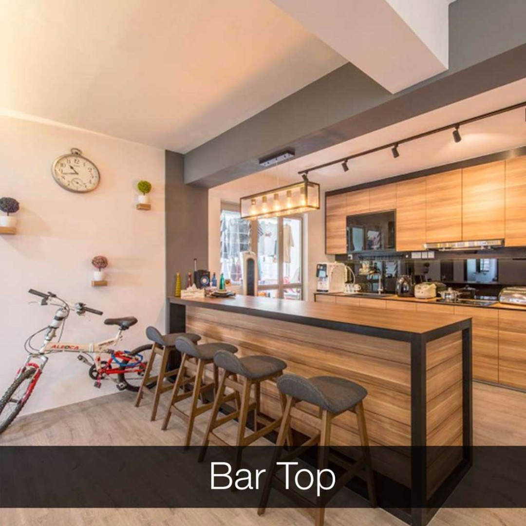 Build a Bar top for your new home! - Singapore Carpenter, Furniture ...