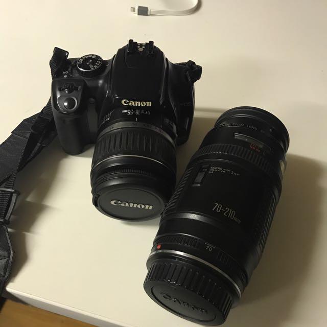 Canon EOS 400D + 2 Lenses