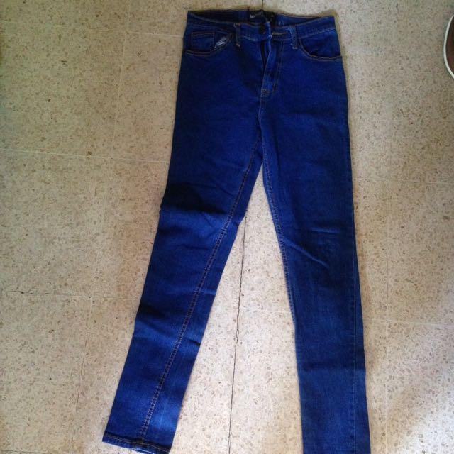 Celana jeans blue light