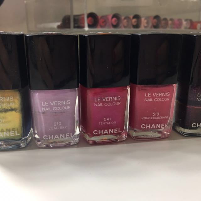 Chanel Nail Polish - price for all