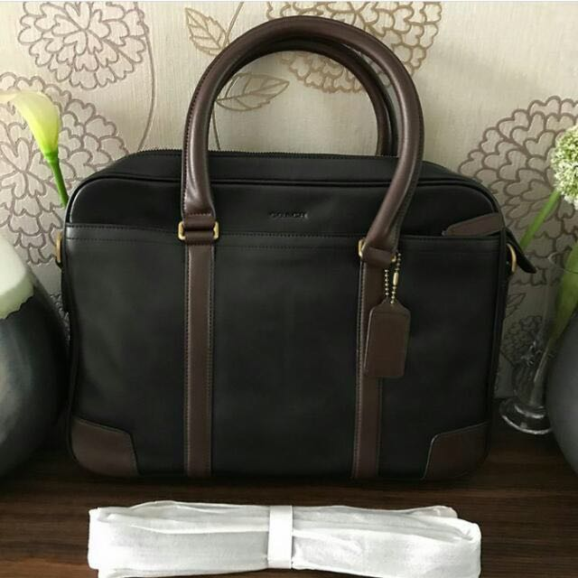 Coach Briefcase Laptop