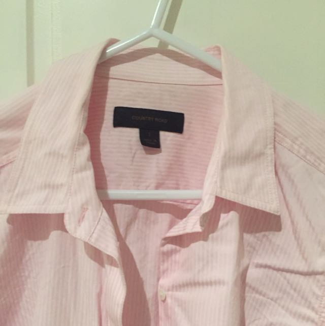 Country Road Pink Shirt Size S