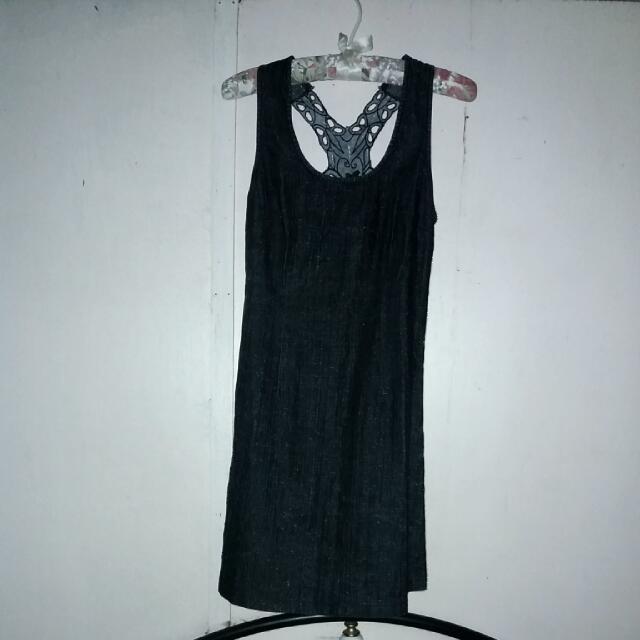 DENIM DRESS  from West  36