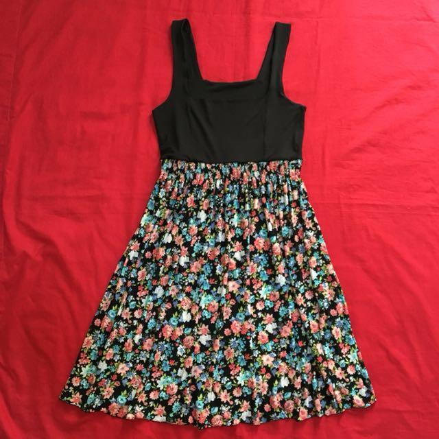 Empire Cut Floral Dress