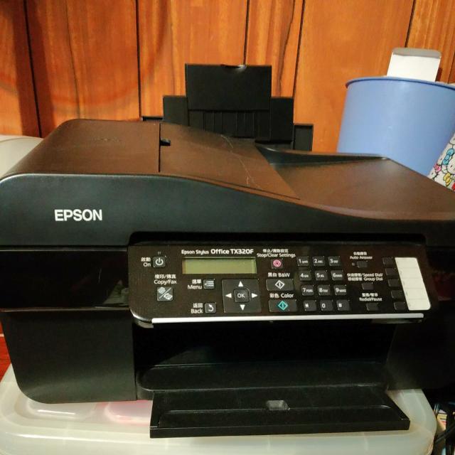 EPSON Stylus OFFICE TX320F商用噴墨傳真複合機-不二價