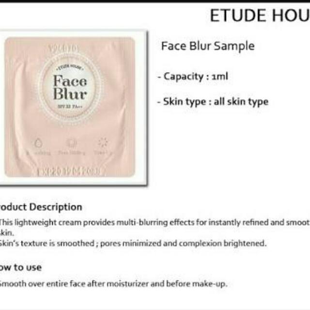 Etude House Face Blur