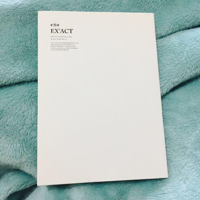 EXO EX'ACT Album
