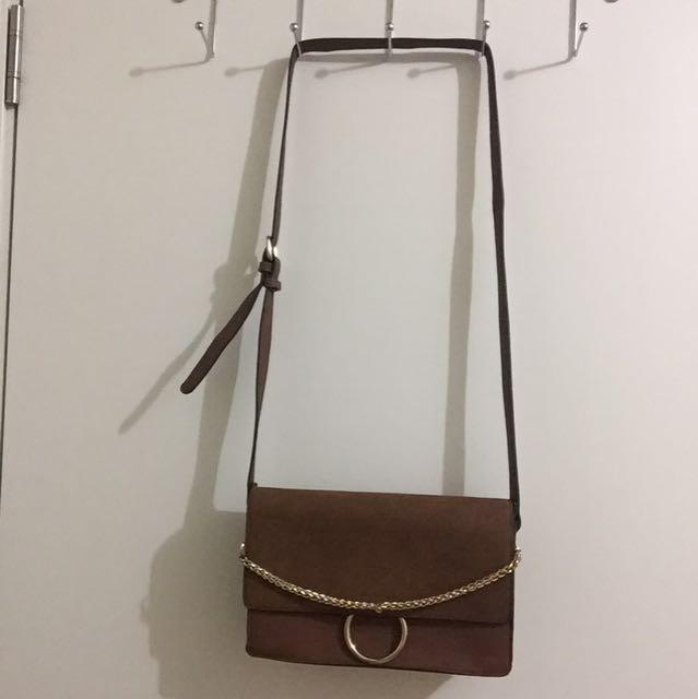 F21 Suede Bag