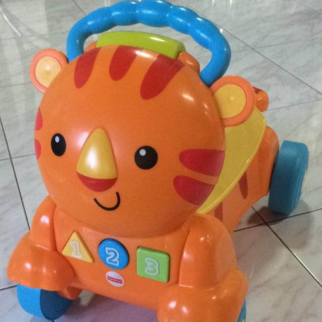 Fisher-Price Stride-to-Ride Tiger