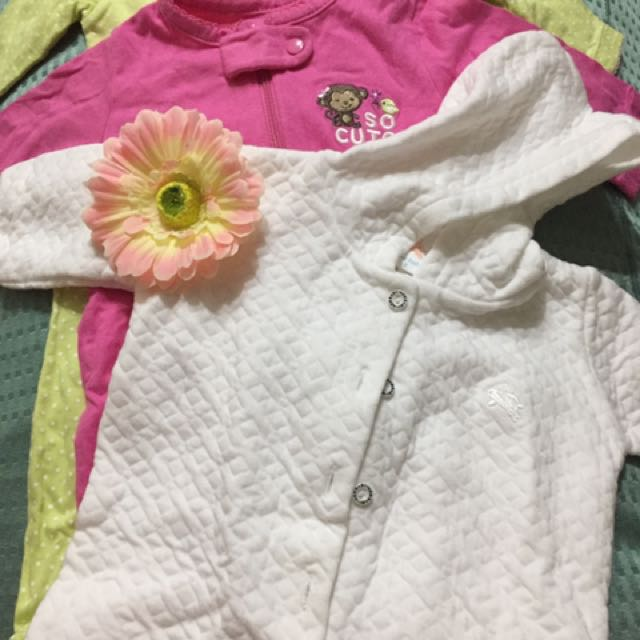 Frogsuit by Carters and hoodie frogsuit