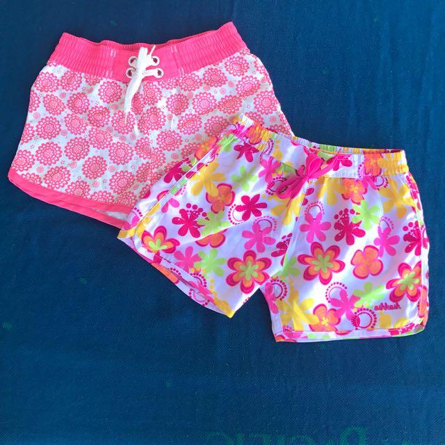 Girls Swimming Shorts Bundle