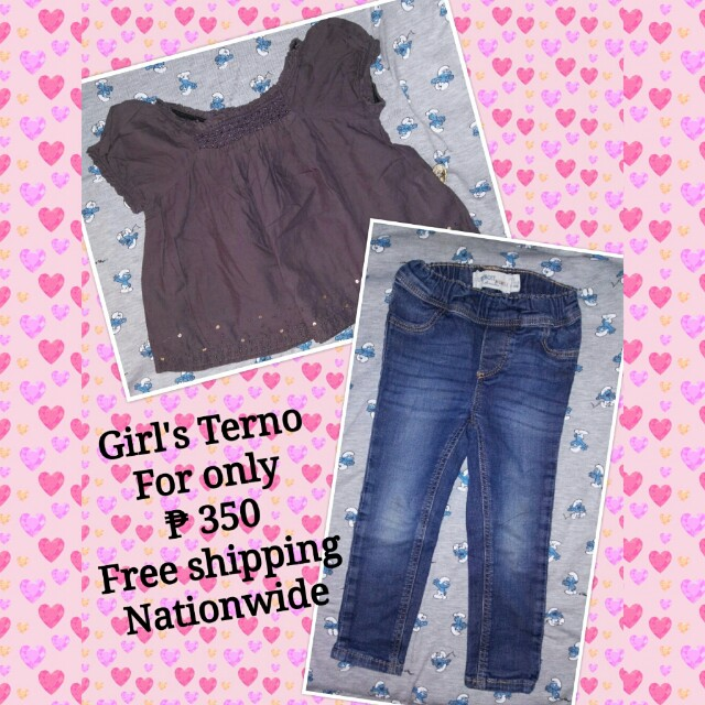 *PRELOVED* Girl's Terno