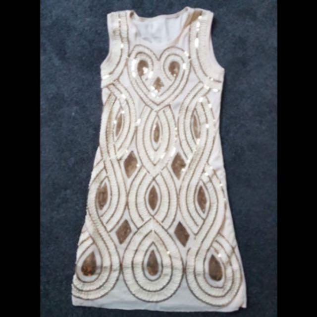 Great Gatsby sequin dress