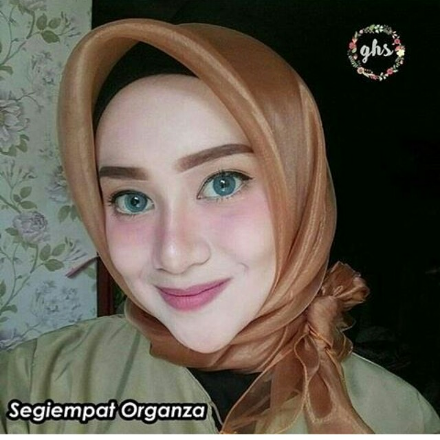 TURUN HARGA !! Hijab organza ready