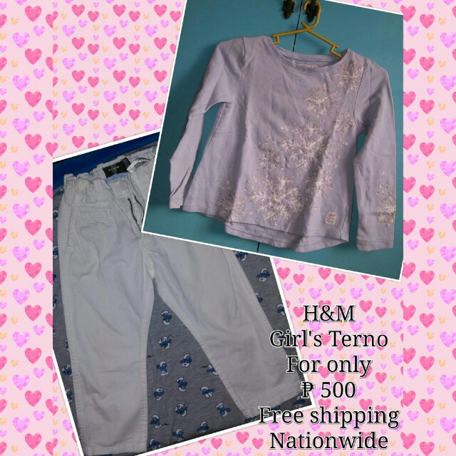 *PRELOVED* H&M Girl's Terno