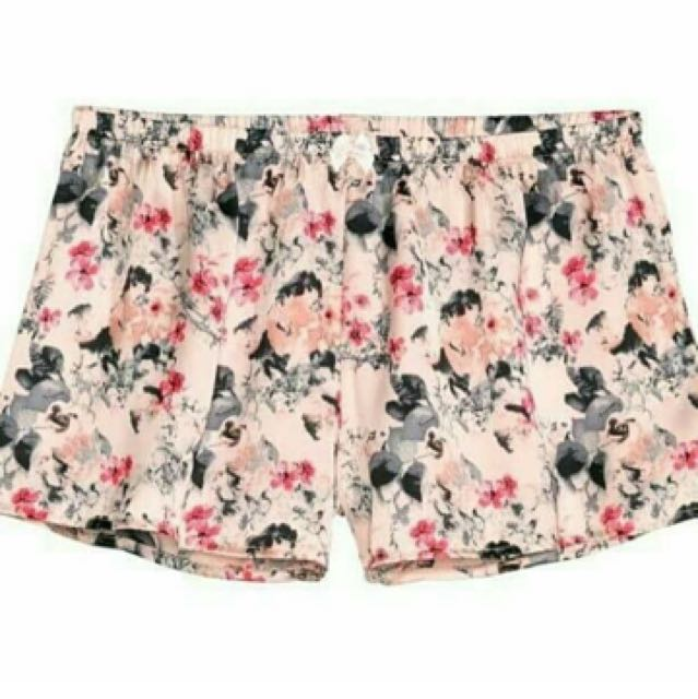 H&M Short Pajamas Pink Floral