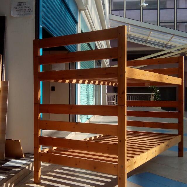 Ikea Bunk Bed Katil Dua Tingkat Double Decker Home Furniture On Carou