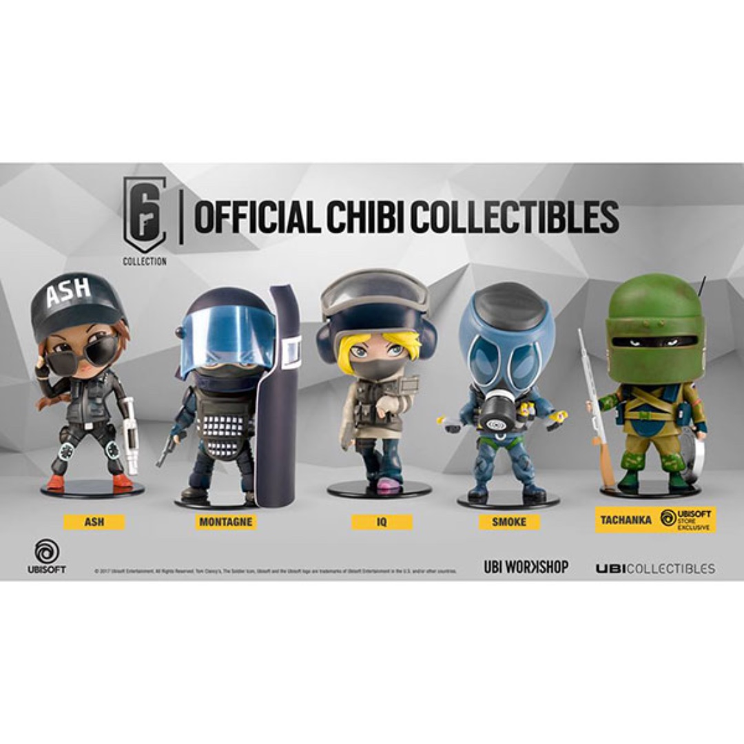 IN STOCK) UbiCollectibles - Rainbow Six - Six Collection Set