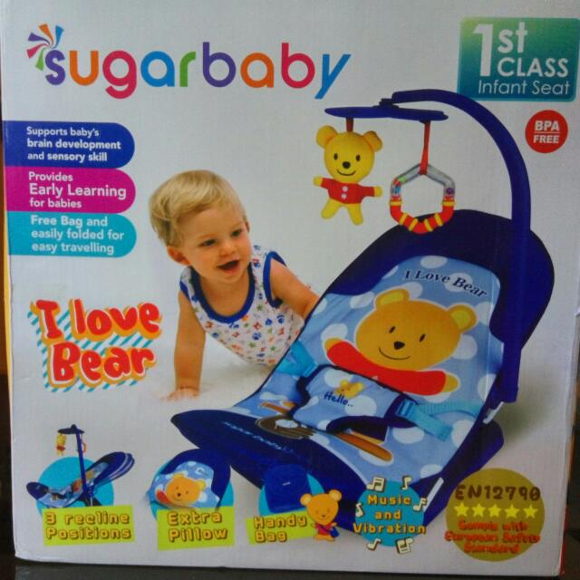 ... Sugar Baby Source Infant Seat With Melodies And Source Bouncer Tempat Duduk Source Duduk Bayi Rossie
