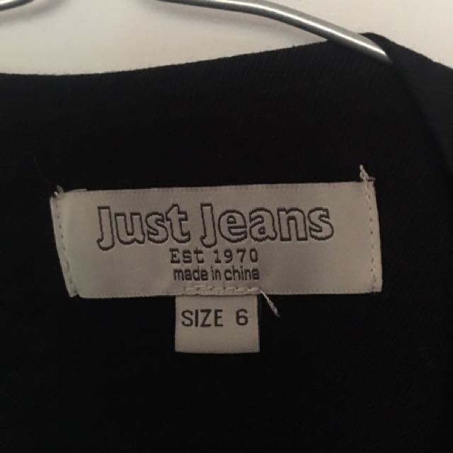 Just jeans tag