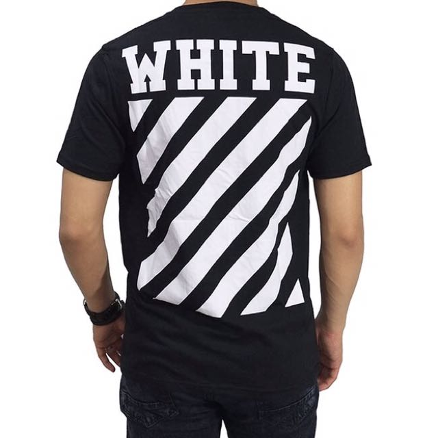 Kaos Off-White Diag New Black
