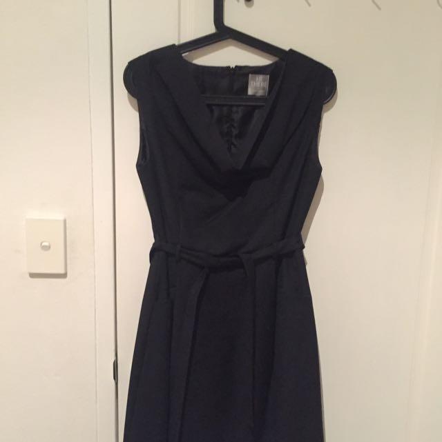 Karen Walker Black Dress Size 8