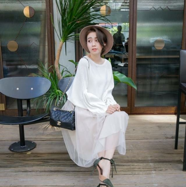 Kashin 質感超好紗裙